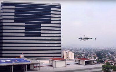 Doctors Hospital con el Helipuerto más moderno y seguro del norte del país.